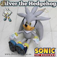 "Игрушка ёж Сильвер из Sonic - ""Silver the Hedgehog"" - 30 см., фото 1"
