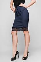 Легкая  юбка-карандаш для деловой девушки