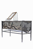 Стол для распечатывания рамок с Двумя корзинами 1,5м, фото 1
