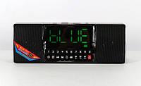 Портативна Аккумуляторная MP3 Колонка Часы WS 1515 BT Bluetooth USB FM SD