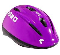 Велошлем детский B'TWIN фиолетовый