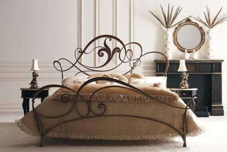 Кованая кровать ИК 009 1
