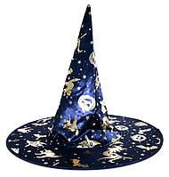 Карнавальная Шляпа Головной Убор Колпак Ведьмы для Вечеринки