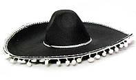 Карнавальная Шляпа Головной Убор Сомбреро Мексиканца Большая для Вечеринки