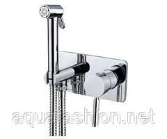 Гигиенический душ со смесителем скрытого монтажа Bugnatese Kobuk 2266