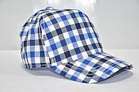 Летняя кепка для мальчика клетка
