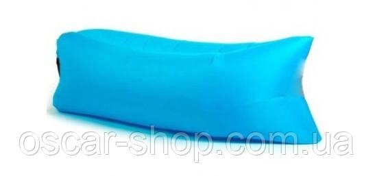 Самонадувной диван-шезлонг Голубой длина 1,8 м