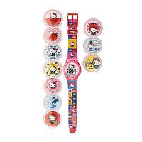 Детские кварцевые наручные часы HKRJ15 Hello Kitty