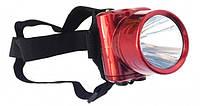 Налобный Фонарь YJ 1829 1 LED Фонарик