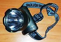 Налобный Фонарь YJ 1898 1 LED Фонарик