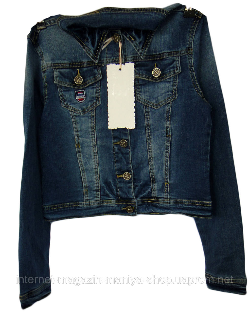 Куртка женская джинс норма 906