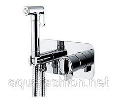Гигиенический душ с термостатическим смесителем скрытого монтажа Bugnatese Kobuk