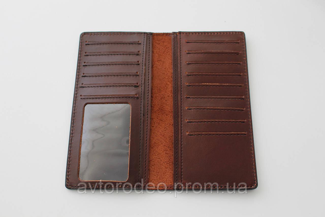 4861ee8d2720 Портмоне кожаное черное Престиж с логотипом Mazda. Купить в Украине ...