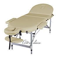 Трехсекционный алюминиевый массажный стол WEN