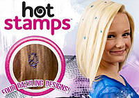 Блестки для Волос Hot Stamps Хот Стэмпс