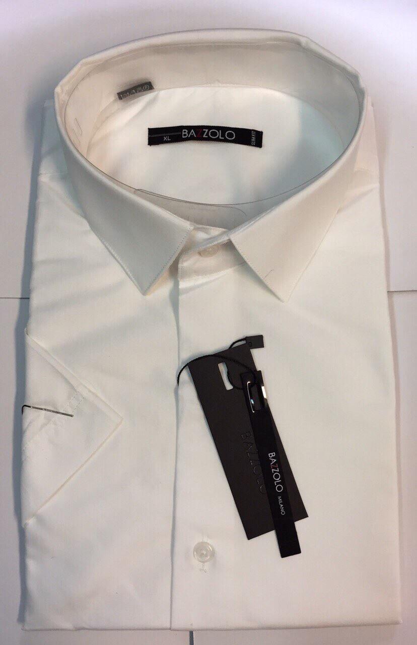 Рубашка мужская короткий рукав Bazollo