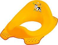 """Детская накладка на унитаз """"Funny Farm"""",  желтая"""