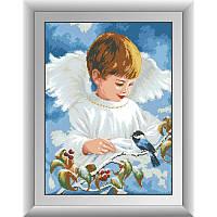Ангельское пение. Набор алмазной живописи (квадратные, полная)