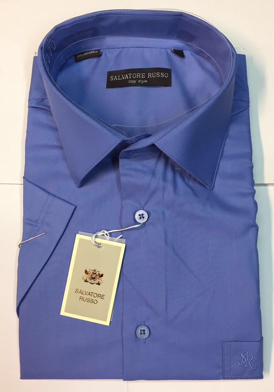 Рубашка мужская короткий рукав Salvatore Russo