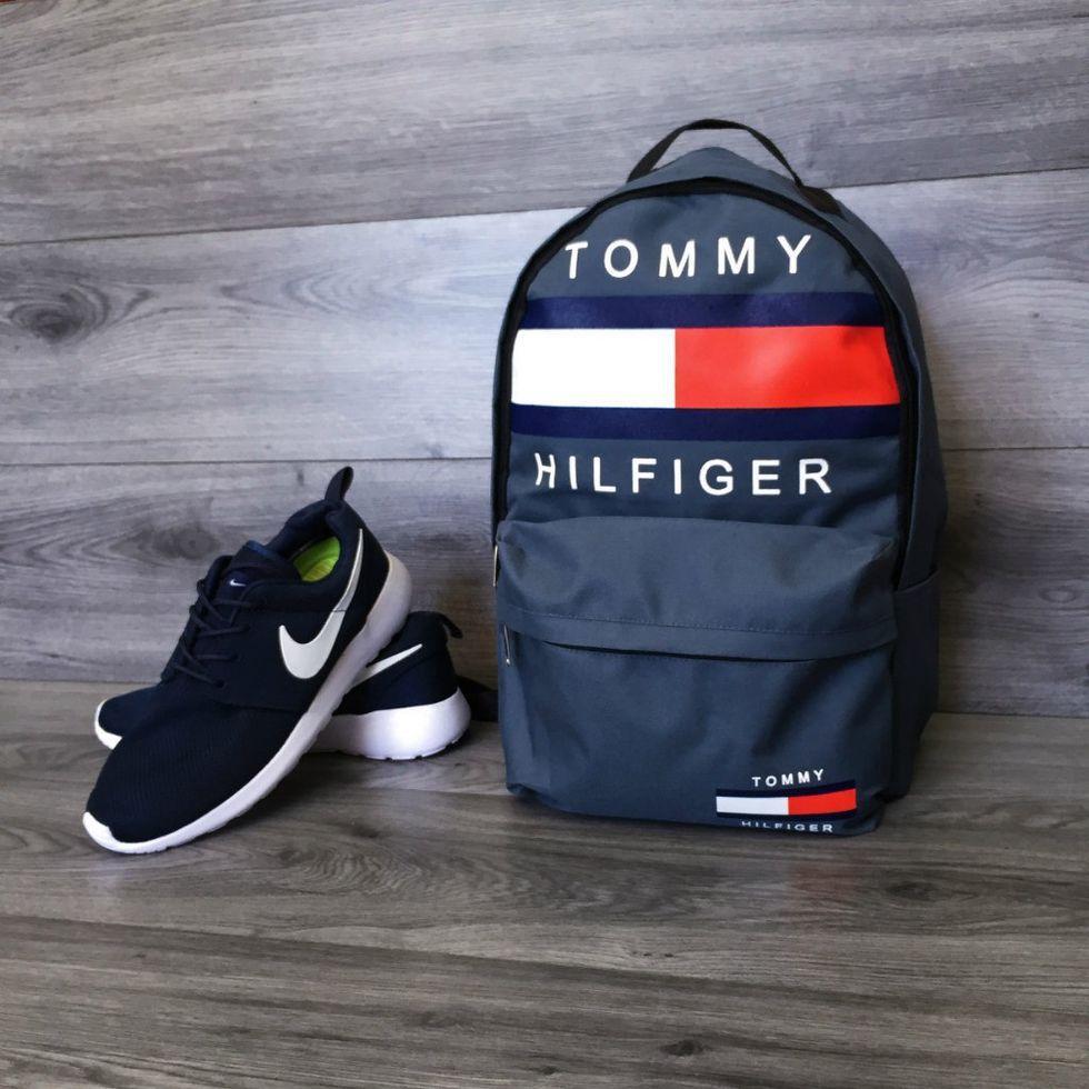 Городской рюкзак Tommy 7 цветов в наличии (Реплика AAA+)
