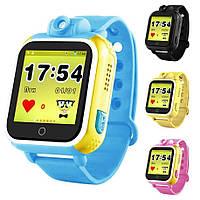 Детcкие умные часы с GPS Smart Baby Watch Q200/Q730 3G и фотокамера 4 цвета