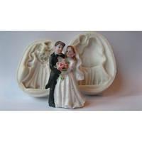 Жених и невеста - силиконовый молд 3D