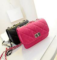 Женская сумка-клатч в дизайне Chanel 3 цвета