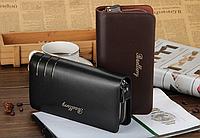 Кожаный мужской кошелек-барсетка портмоне от Baellerry