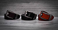 Кожаный мужской ремень Calvin Klein 3 цвета