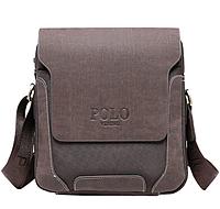 Мужская кожаная сумка Polo Oxford