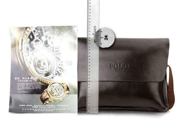 baf4e3fb1f52 Мужская кожаная сумка Polo Videng A4 2 цвета, цена 585 грн., купить в  Львове — Prom.ua (ID#522865167)