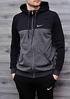 Мужская спортивная кофта Nike на замке 5 цветов в наличии