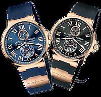 Мужские кварцевые наручные часы Ulysse Nardin Marine 2 цвета