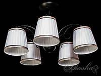Недорагая классическая люстра на 5 ламп 50712-5