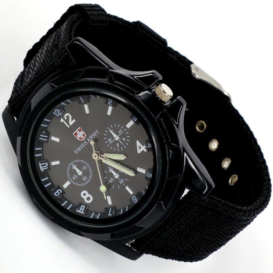 Мужские наручные армейские часы в стиле Swiss Army