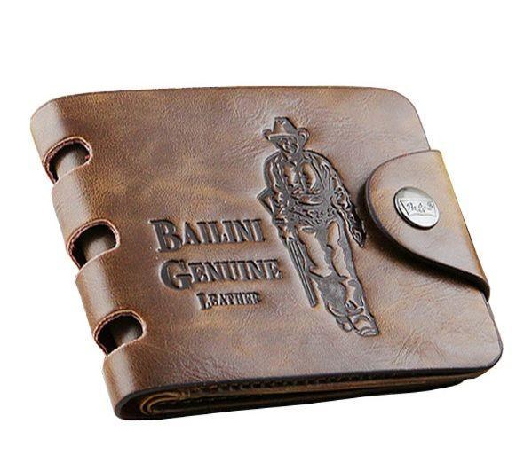 352612638052 Мужской кошелек Bailini Genuine Leather - Интернет-магазин
