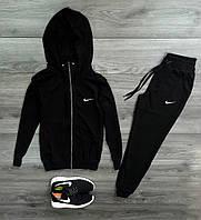 Мужской спортивный костюм Nike черный 4 цвета в наличии