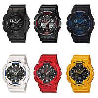 Наручные часы Casio G-Shock GA 100 Все цвета
