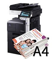Печать флаеров А4