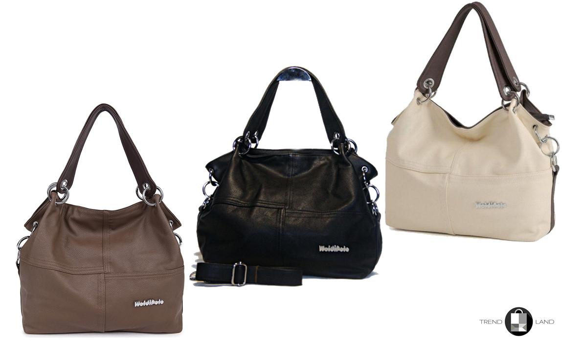 0182bb897837 Стильная женская сумка WeidiPolo 3 Цвета - Интернет-магазин
