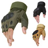 Тактические военные перчатки Oakley открытие 3 цвета в наличии