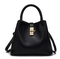 Дизайнерская сумка женская черная код 3-255, фото 1