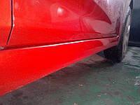 Покраска порога автомобиля