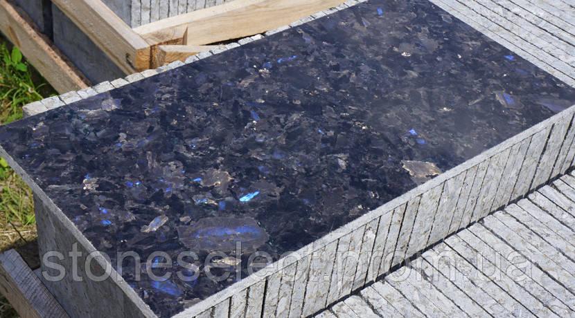 Плитка полированная 300х300(600)х20 Лабрадорит Очеретянского м-я - StoneSelect в Киеве