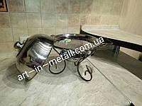Подставка для шашлыка САДЖ Vip 28 см с крышкой, фото 1