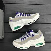 Кроссовки Nike Air Max 95 QS White/Court Purple женские