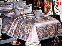 Постельное белье сатин жаккард Tiare Вилюта. VSJT 1701