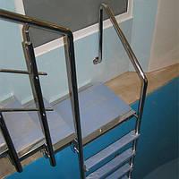 Изготовление и установка лестниц для бассейна