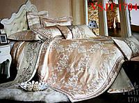 Постельное белье сатин жаккард Tiare Вилюта. VSJT 1704