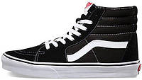 Зимние кеды Vans Old Skool high CANVAS SK8-HI с мехом, (унисекс), vans old school, ванс олд скул